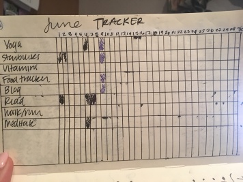 My habit tracker